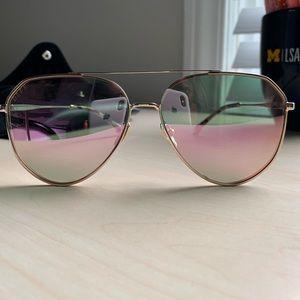 Diff Eyewear Dash Pink Sunglasses